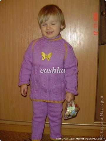троицкая Москвичка в 2 нити, спицы фото 9