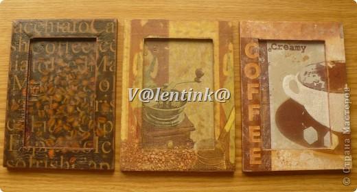 Всем здравствуйте. Давно была идея за декорировать икеивские рамки салфетками с кофе. фото 1