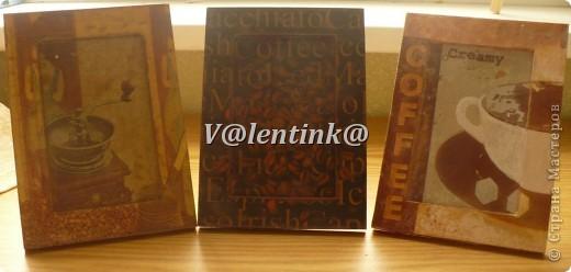 Всем здравствуйте. Давно была идея за декорировать икеивские рамки салфетками с кофе. фото 5