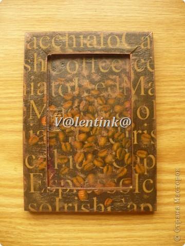 Всем здравствуйте. Давно была идея за декорировать икеивские рамки салфетками с кофе. фото 2