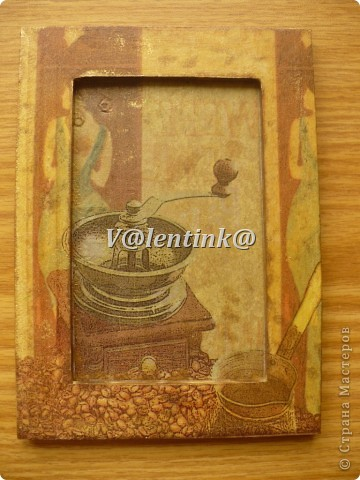 Всем здравствуйте. Давно была идея за декорировать икеивские рамки салфетками с кофе. фото 3