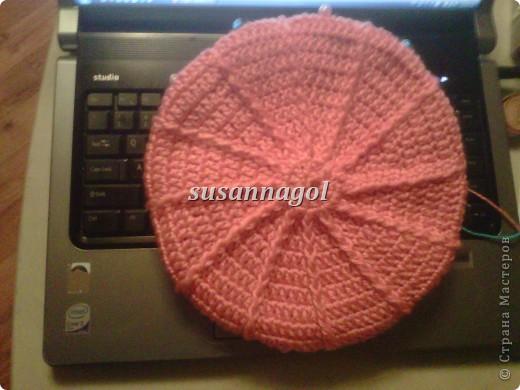Все теже остатки ниток СARON Simply Soft бирюзового и розового цвета. Связался за 3 часа :) фото 2