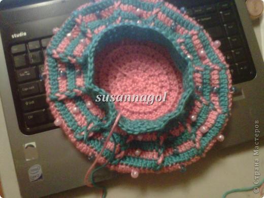 Все теже остатки ниток СARON Simply Soft бирюзового и розового цвета. Связался за 3 часа :) фото 3