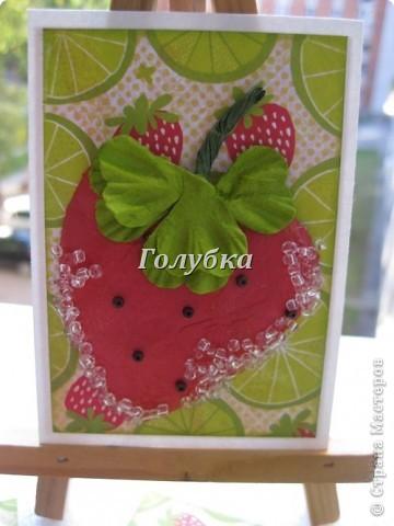 Не знаю как у вас, но у меня вкус лета-это земляника и клубника.. Эти ягоды очень любит  мой сын. фото 4