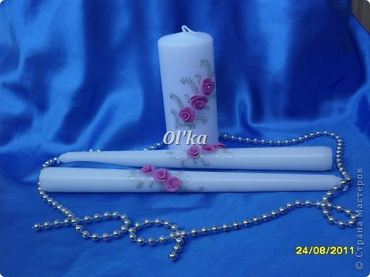 Свадебные свечи фото 2