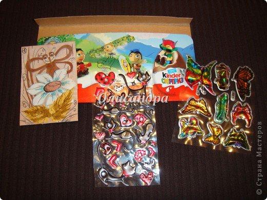 Очень нравится такая форма открытки...  Здесь можно посмотреть ,как это делается...   http://stranamasterov.ru/node/233169  , там ссылочки на МК ... А я решила, что больше делать такие не буду... Уже хочется чего-то новенького... фото 17