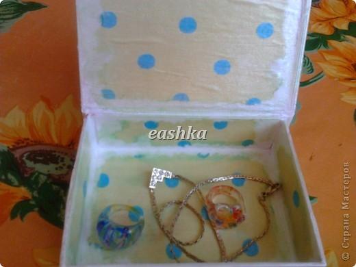 вот такая коробочка получилась для дочки))) фото 3