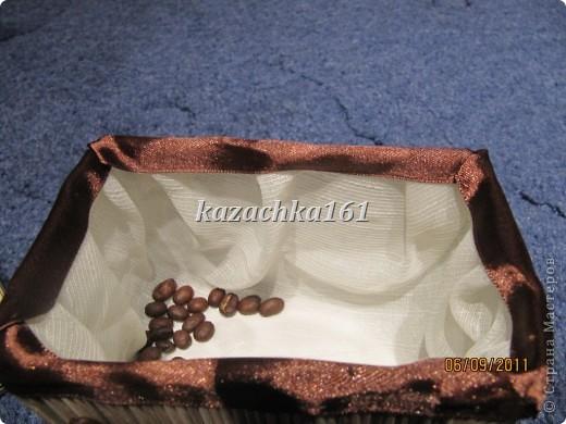 Вот такая кофейная шкатулочка появилась у меня в доме фото 3