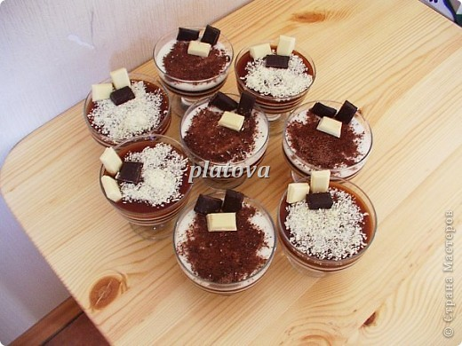 Кофейно-ванильный десерт фото 2