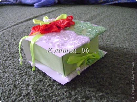 Открытка и коробочка под деньги фото 5
