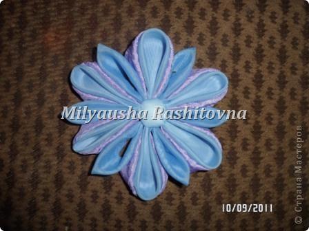 Моя попытка сделать канзаши. фото 1