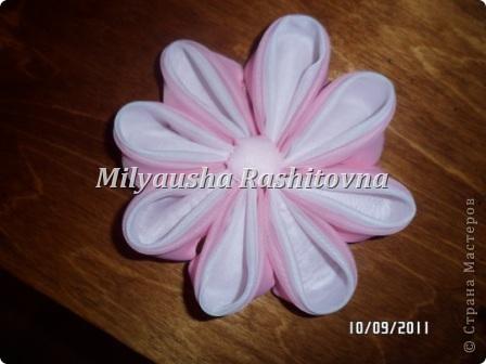 Моя попытка сделать канзаши. фото 2