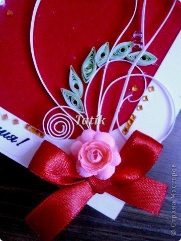 Подарочек подружке=) почему-то напомнило мне клубнику)) фото 3