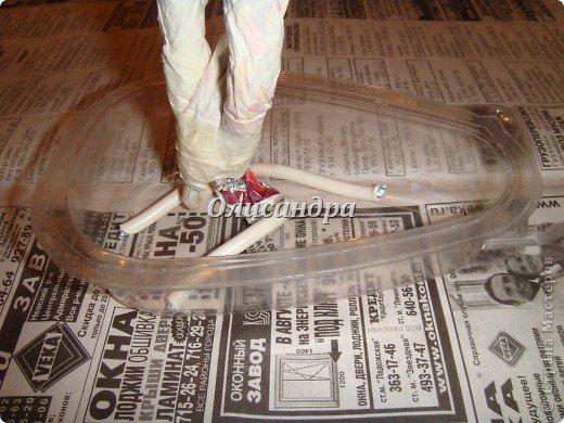 Бонсай топиарий Мастер-класс Поделка изделие Бисероплетение Глициния из бисера   мини МК Бисер Бумага газетная Гипс Клей Краска Проволока фото 41