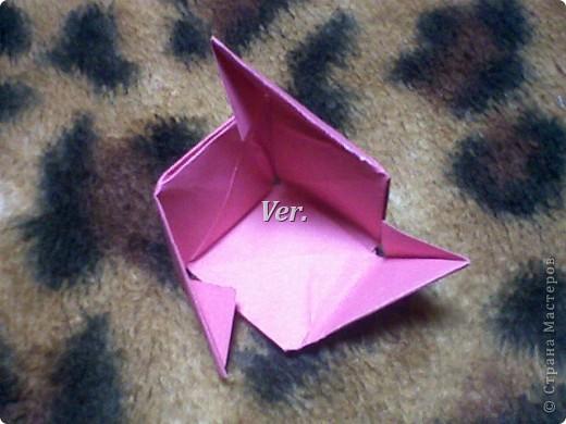 Доброго времени суток,жители Страны Мастеров!Я новичок в технике Оригами.И МК по Оригами делаю впервые.Так что прошу не судить строго,и если что то не понятно,спрашивайте!Я хочу показать вам и рассказать как делаются такие розочки.В чём их секрет?Сейчас узнаете! фото 41