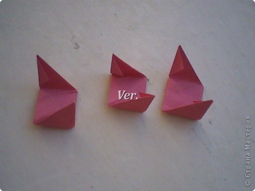 Доброго времени суток,жители Страны Мастеров!Я новичок в технике Оригами.И МК по Оригами делаю впервые.Так что прошу не судить строго,и если что то не понятно,спрашивайте!Я хочу показать вам и рассказать как делаются такие розочки.В чём их секрет?Сейчас узнаете! фото 29