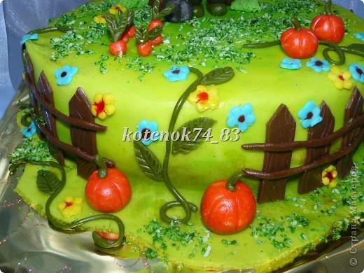 Вот такой сделала тортик для именинника садовода-любителя. фото 3