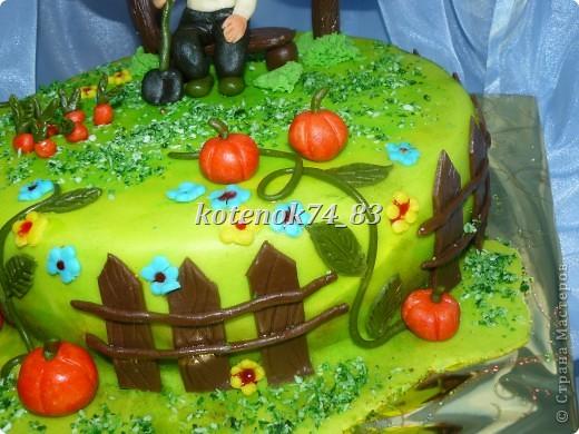 Вот такой сделала тортик для именинника садовода-любителя. фото 4
