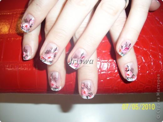художественная роспись на ногтях фото 3