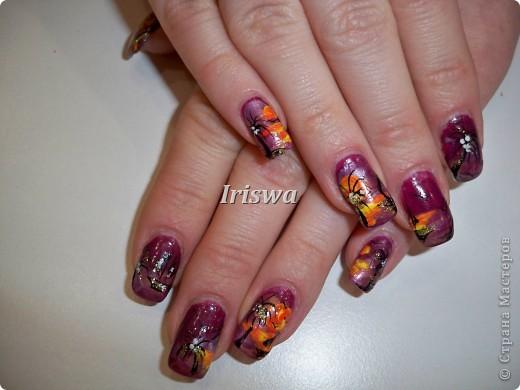 художественная роспись на ногтях фото 2