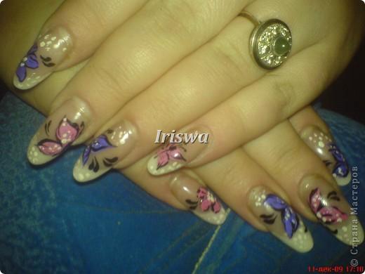 художественная роспись на ногтях фото 4