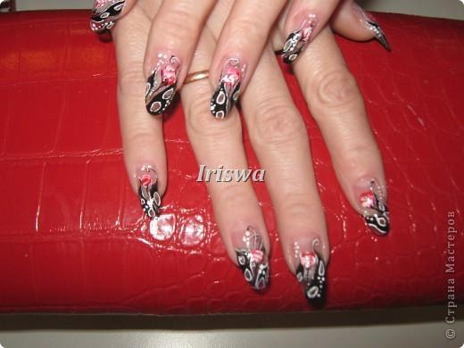 художественная роспись на ногтях фото 6