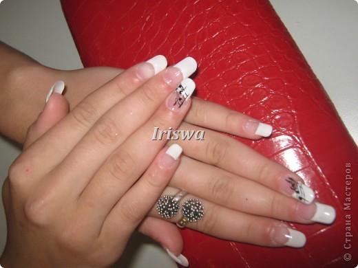 художественная роспись на ногтях фото 5