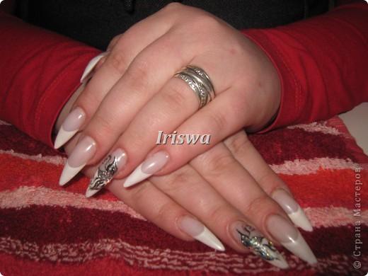 художественная роспись на ногтях фото 7