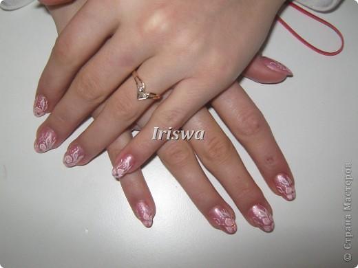 художественная роспись на ногтях фото 8