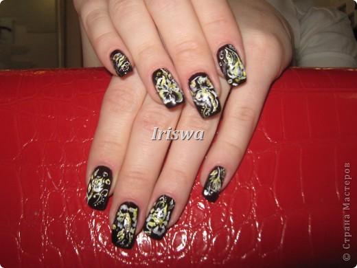 художественная роспись на ногтях фото 9