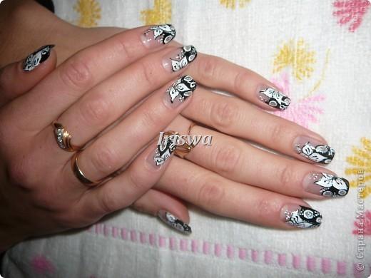 художественная роспись на ногтях фото 10