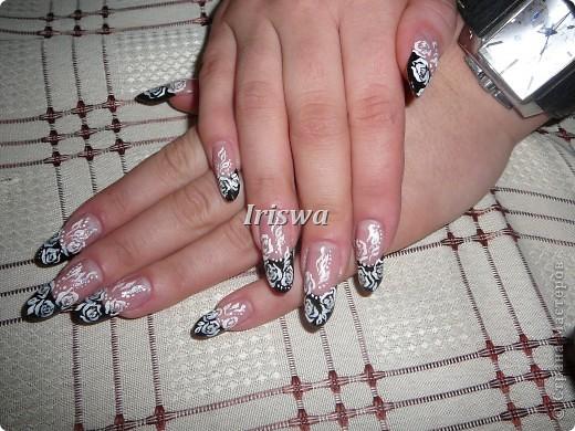 художественная роспись на ногтях фото 11