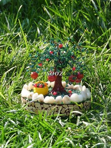 Меня очень вдохновил мастер-класс пользователя Изуля. Огромное Вам спасибо и низкий поклон за то, что делитесь такими секретами. Изначально деревце выглядело так... фото 3