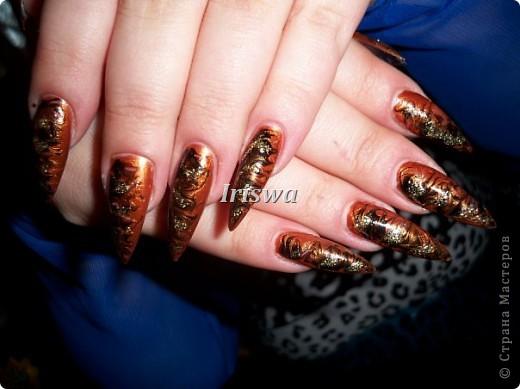 художественная роспись на ногтях фото 14