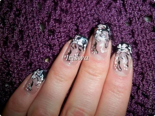 художественная роспись на ногтях фото 13