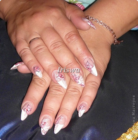 художественная роспись на ногтях фото 16