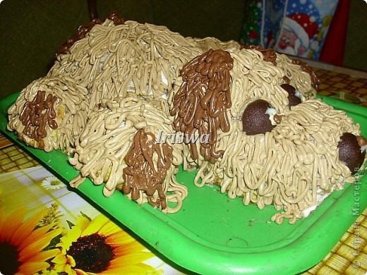 рецептик простой, но тортик очень вкусный!!!