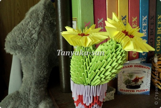 Модульное оригами, моя красота =) фото 3