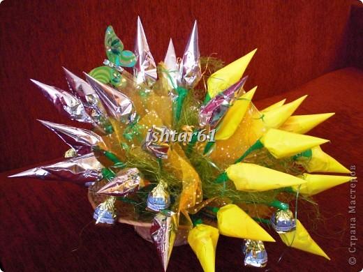Букеты из конфет фото 8