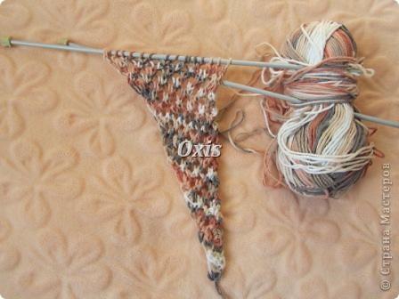 Вязание - Ажурный бактус.