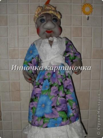 кукла теперь живет у моей тёти. фото 1