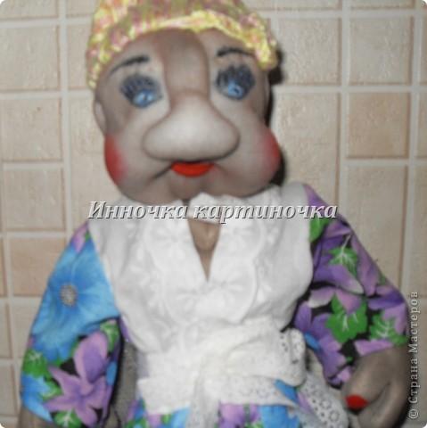 кукла теперь живет у моей тёти. фото 3