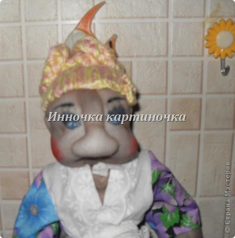 кукла теперь живет у моей тёти. фото 4