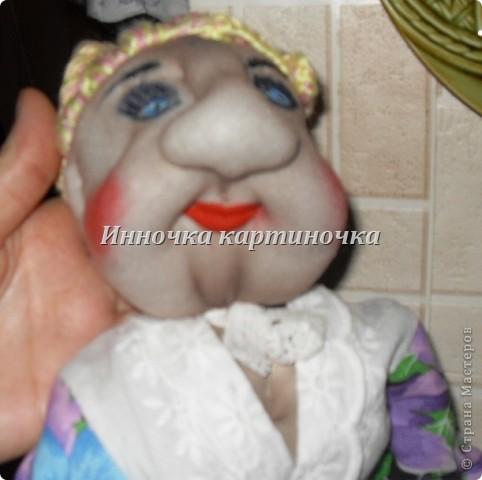 кукла теперь живет у моей тёти. фото 5