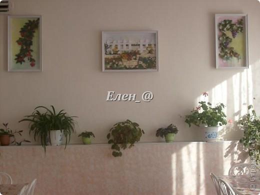 """Идею """"честно """"стянула"""" у Софьи Баланюк, в хабаровском центре. Только тележка у нее была с ромашками, ну а мне же в столовую нужно- значит будет с ягодами. Размер- 70х50см (ага, гигантизмом нисколечко не страдаю :)) ) фото 10"""