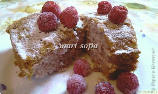 Малиновый кекс. фото 1