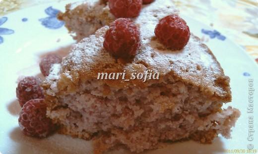 Малиновый кекс. фото 2