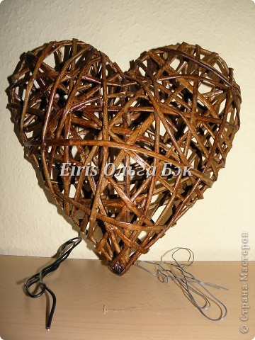 Это мой усовершенствованный и уже немного систематизированный вариант плетенного сердца. фото 5