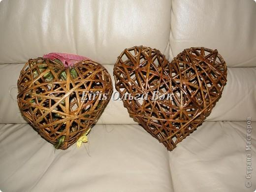 Это мой усовершенствованный и уже немного систематизированный вариант плетенного сердца. фото 3