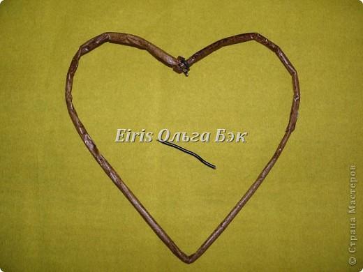 Это мой усовершенствованный и уже немного систематизированный вариант плетенного сердца. фото 7